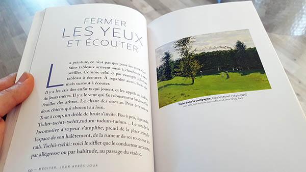 """Dans son livre """"Méditer jour après jour"""", Christophe André nous initie à la méditation au travers de toiles de peinture"""