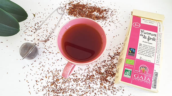 Le rooibos est une tisane qui peut se consommer toute la journée comme elle ne contient ni théine ni caféine